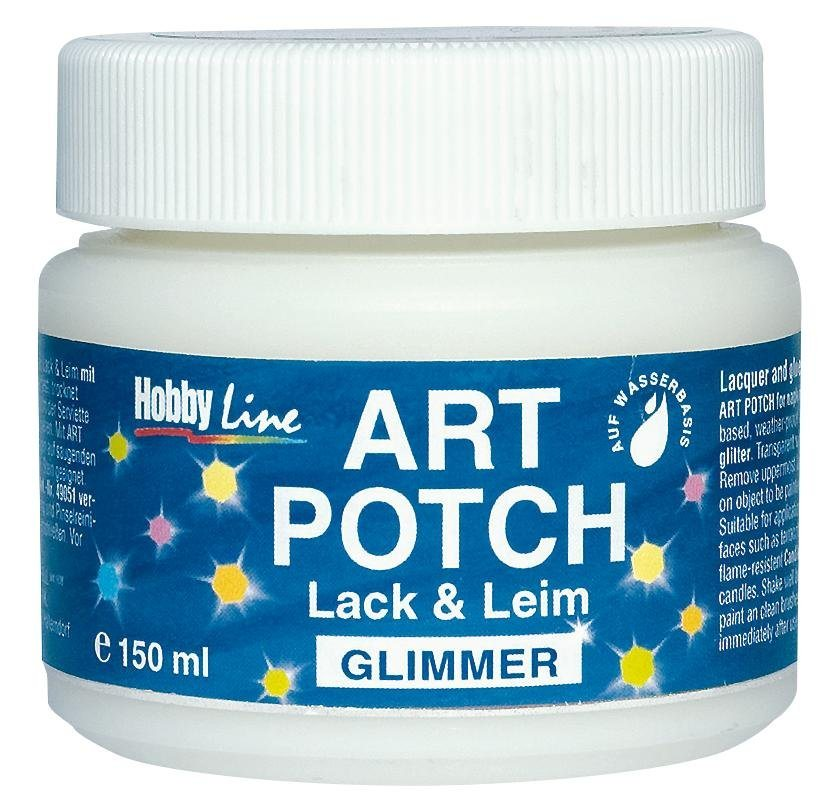 "Hobby Line Servietten-Lack Art Potch ""Glimmer"", 150ml"