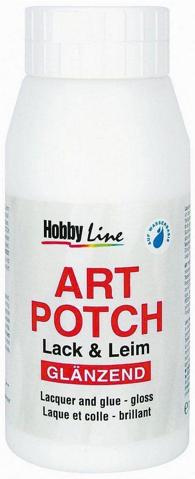Hobby Line Serviettenlack Art-Potch, 750 ml, gllänzend