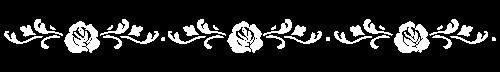 Stamperia Schablone, Blumenbordüre