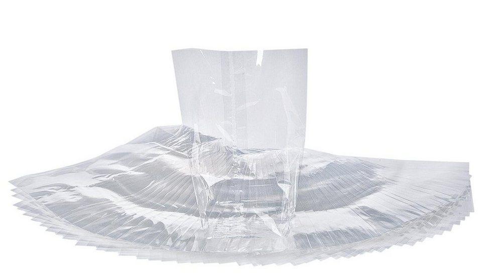Folia Zellglas-Beutel, 25 Stück