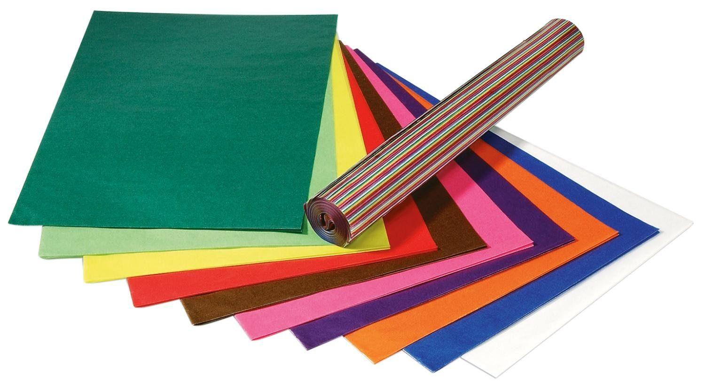 Folia 100 Bogen Transparentpapier, 50x70cm, Großhandelspackung