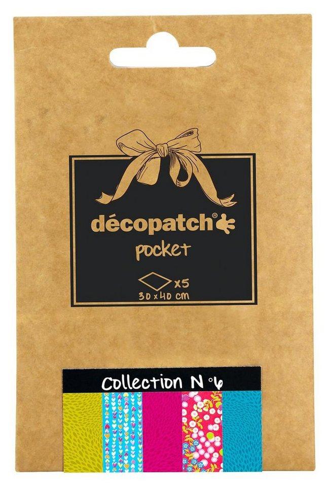 "décopatch Pocket ""Collection No.6"""