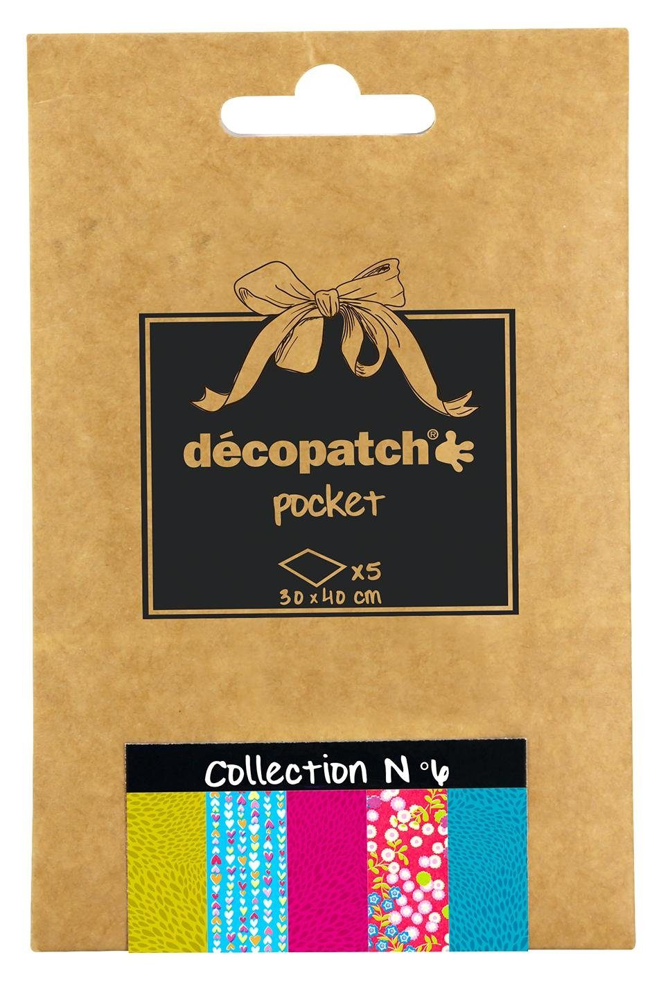 "décopatch Pocket ""Collection No.6"""