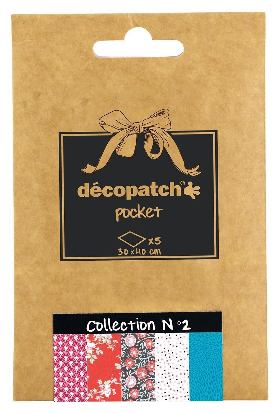 "décopatch Pocket ""Collection No.2"""