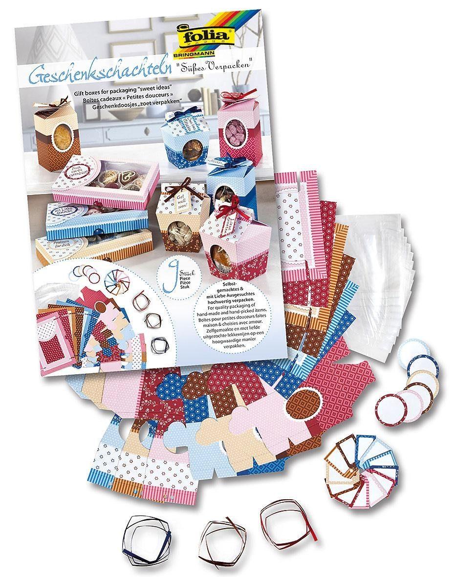 """Folia Geschenkschachteln """"Süßes verpacken"""", 40tlg."""