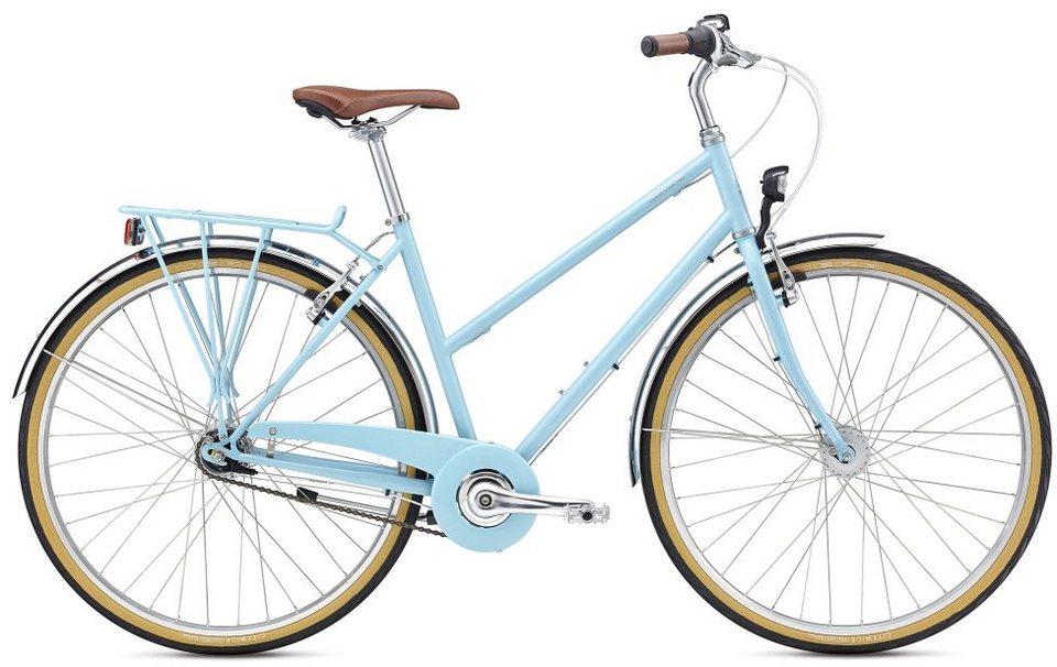 BREEZER Bikes Trekkingrad »Downtown 7+«, 7 Gang Shimano ...
