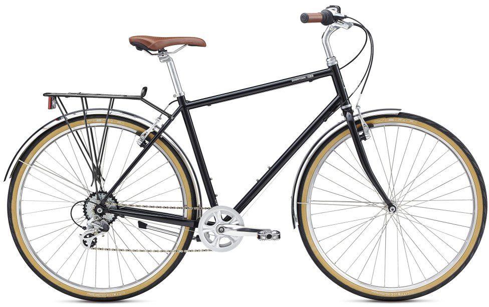 BREEZER Bikes Trekkingrad »Downtown EX«, 8 Gang Shimano Altus Schaltwerk, Kettenschaltung