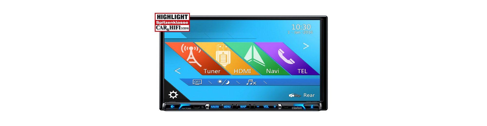 Clarion 2-DIN Multimedia mit Navi »NX706E«