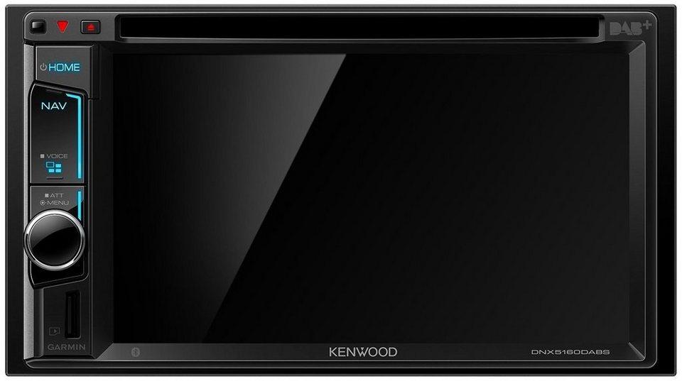 Kenwood 2-DIN Navigation Garmin »DNX5160DABS« in schwarz