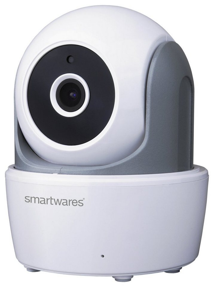 smartwares Smart Home Sicherheit & Komfort »WiFi IP-Kamera Pan/ Tilt« in weiss