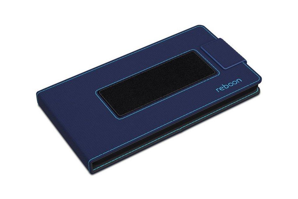 reboon Cover / Schutzhülle für Handys »boonflip XS« in blau