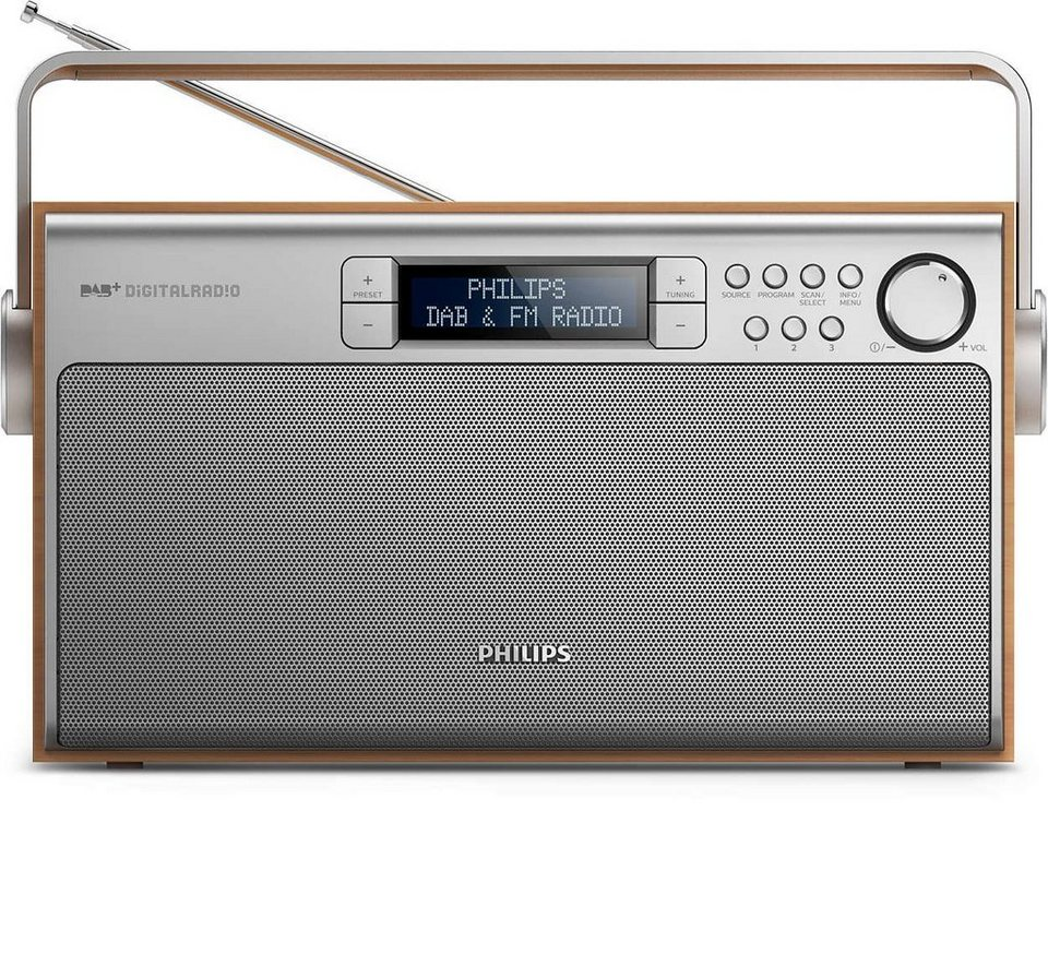 Philips Digitalradio »AE5220/12« in silber