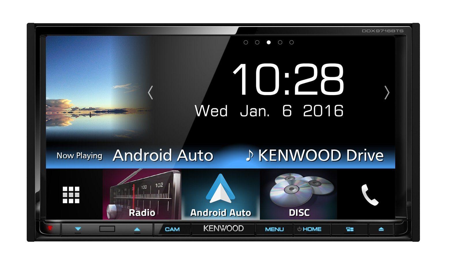 Kenwood 2-DIN Receiver Bluetooth »DDX9716BTS«