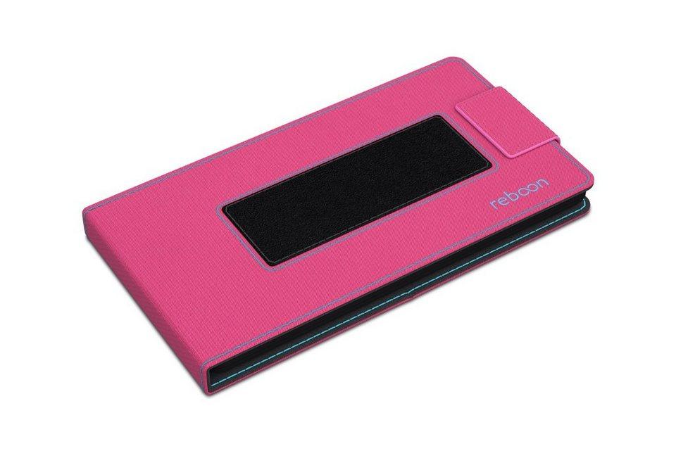 reboon Cover / Schutzhülle für Handys »boonflip XS2« in pink