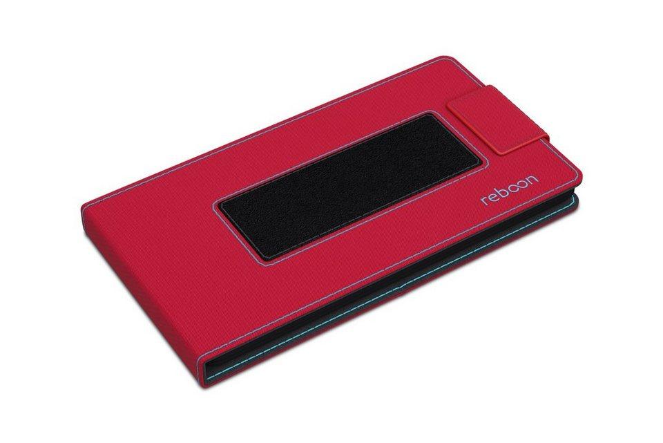 reboon Cover / Schutzhülle für Handys »boonflip XS2« in rot
