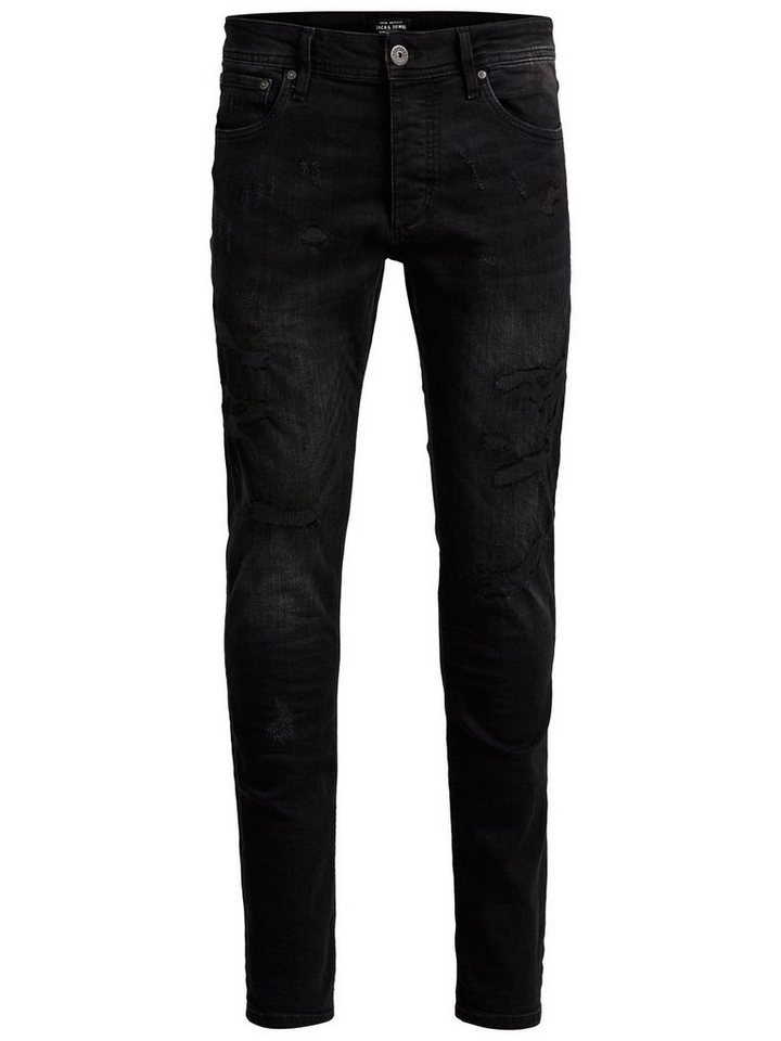 Jack & Jones Glenn Original JOS 576 Slim Fit Jeans in Black Denim
