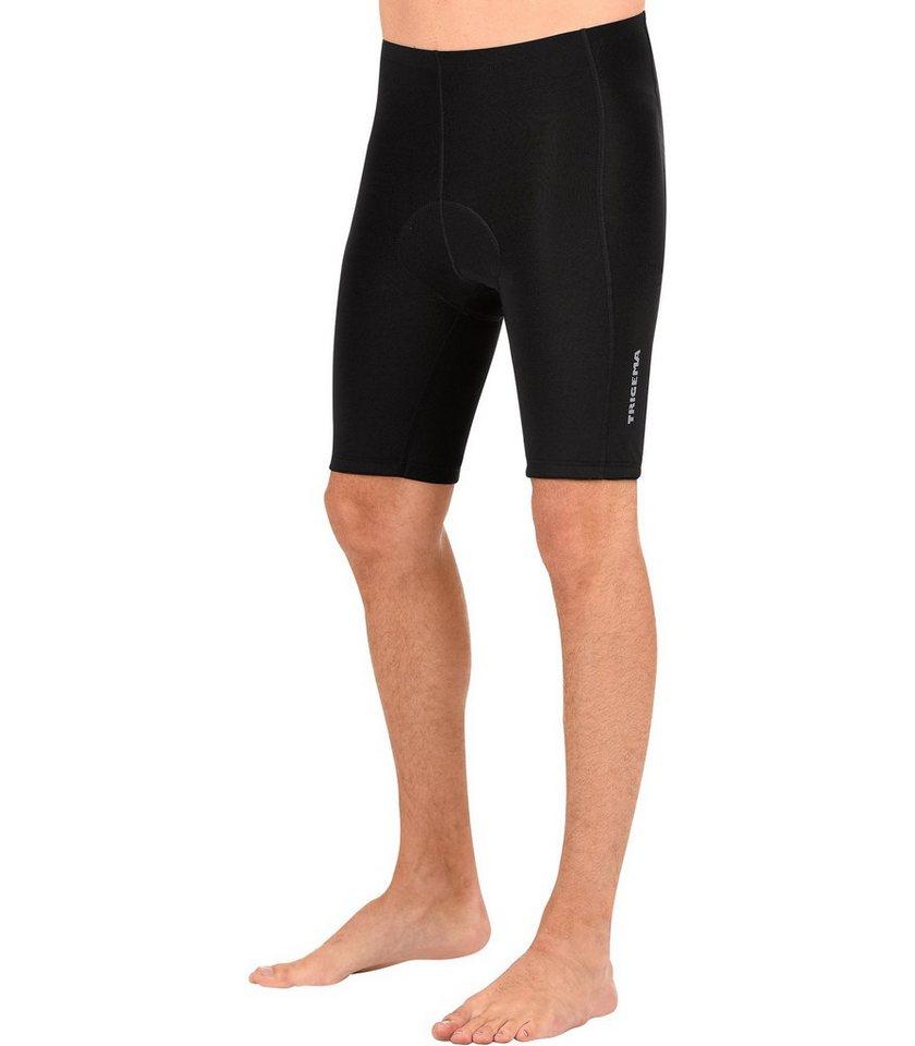 TRIGEMA Kurze Radler-Hose in schwarz