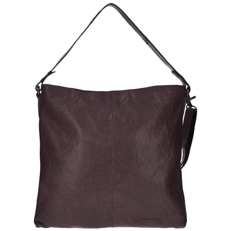 Spikes & Sparrow Bronco Shopper Tasche Leder 35 cm in dark brown