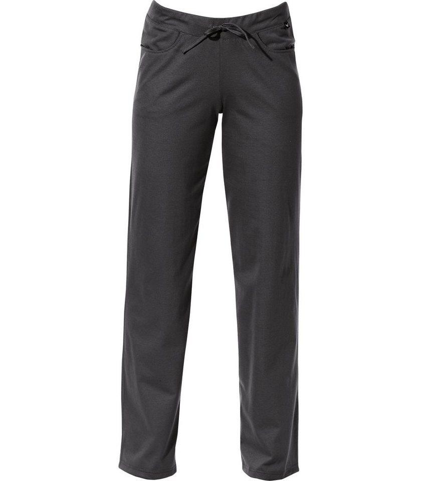 TRIGEMA Hüft-Hose DELUXE Baumwolle in schwarz