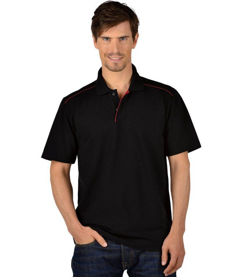 TRIGEMA Polo-Shirt 100% Biobaumwolle in schwarz-C2C