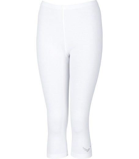 TRIGEMA Leggings 3/4 mit Swarovski® Kristallen