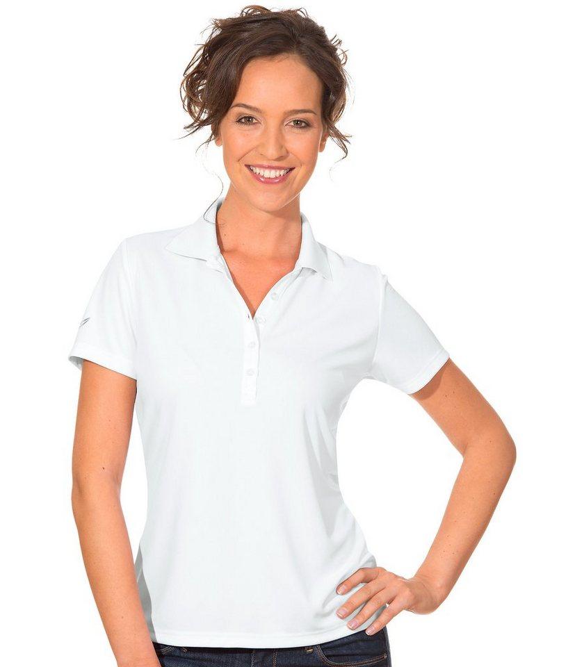 TRIGEMA Polo-Shirt COOLMAX in weiss