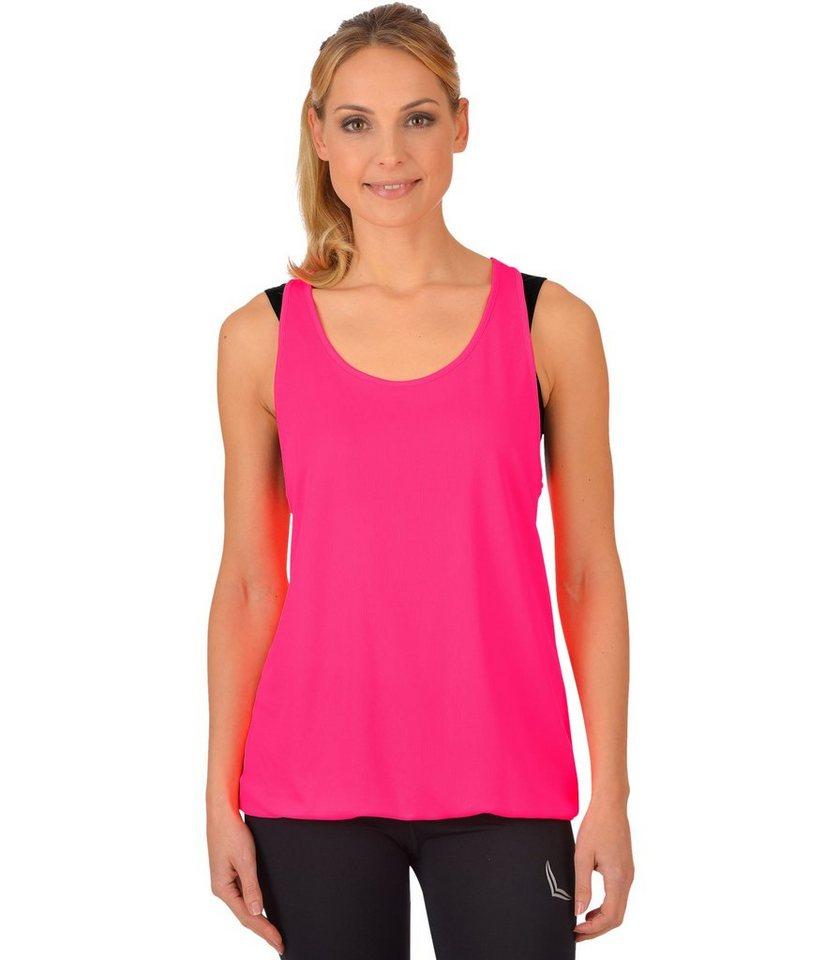 TRIGEMA Long-Shirt COOLMAX in power-pink