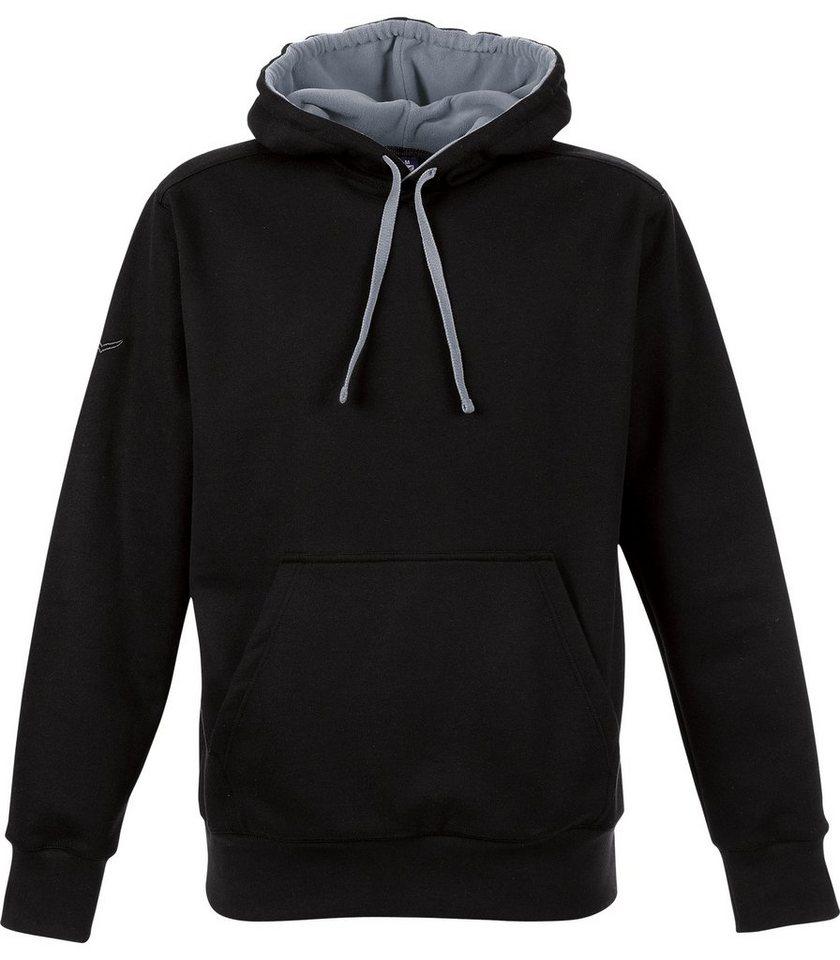 TRIGEMA Kapuzen-Shirt Sweat-Qualität in schwarz