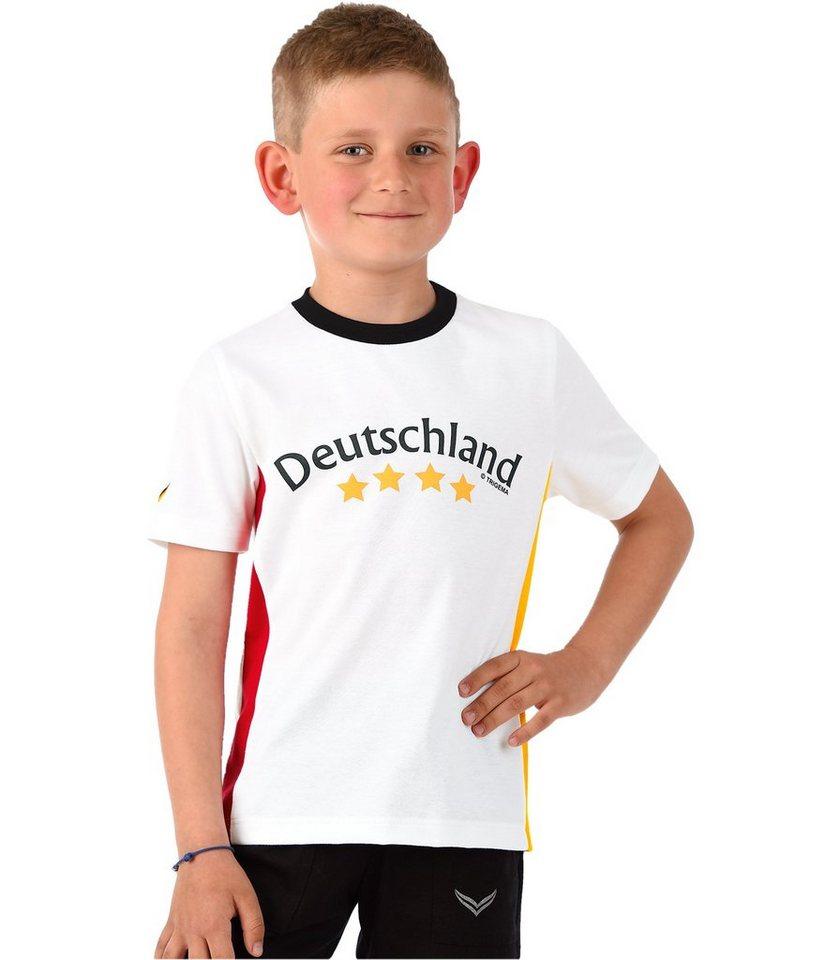 TRIGEMA T-Shirt Deutschland in weiss