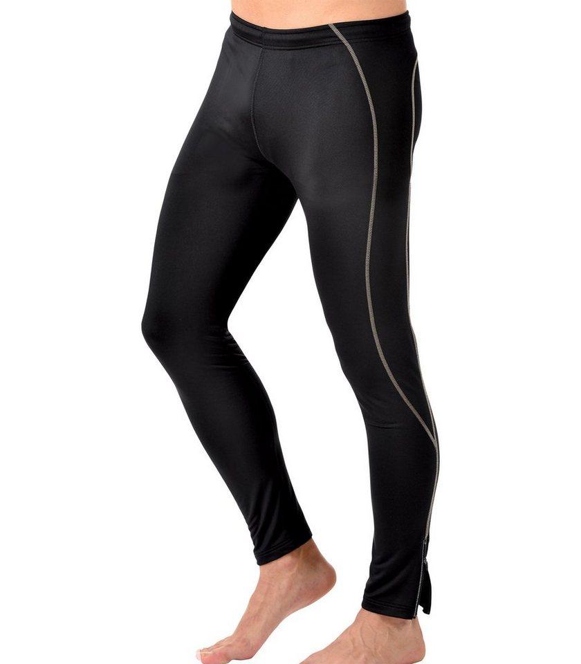 TRIGEMA Lange-Sport-Hose in schwarz