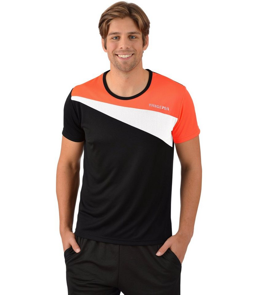TRIGEMA Sport-Shirt COOLMAX in powerred