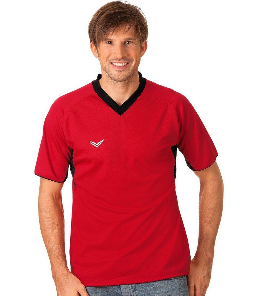 TRIGEMA Raglan-Sport-Shirt in kirsch