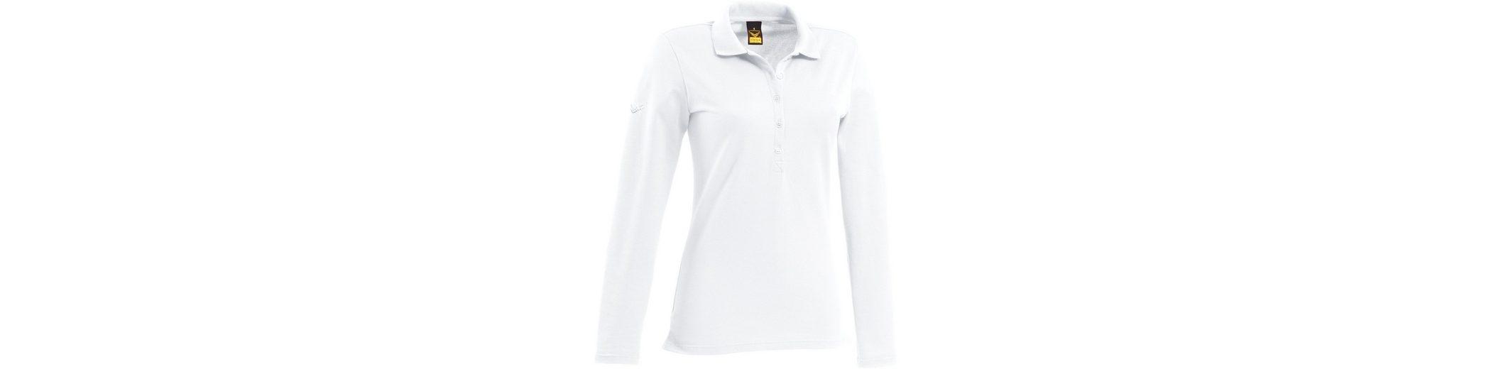 Billig Authentische Rabatt-Websites TRIGEMA Langarm Poloshirt mit Swarovski® Kristallen Zum Verkauf 2018 G6xYG