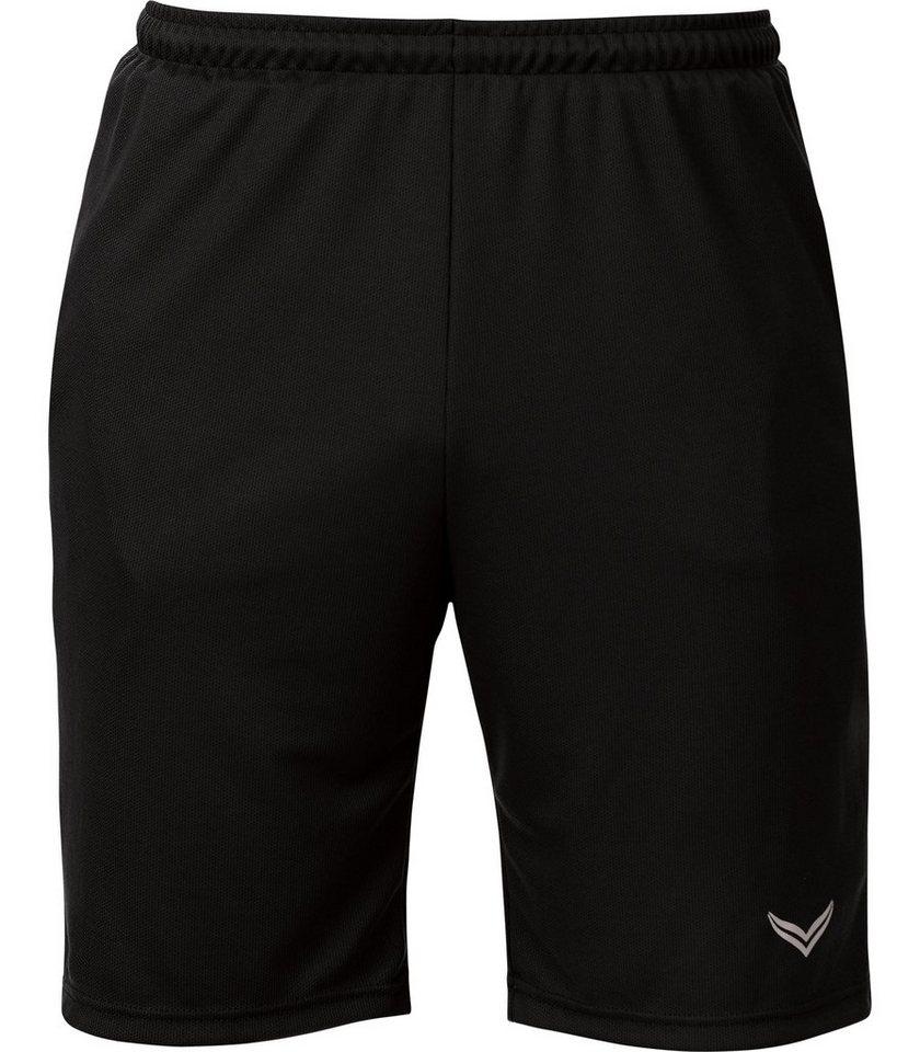 TRIGEMA Sport-Hose/Bermuda in schwarz