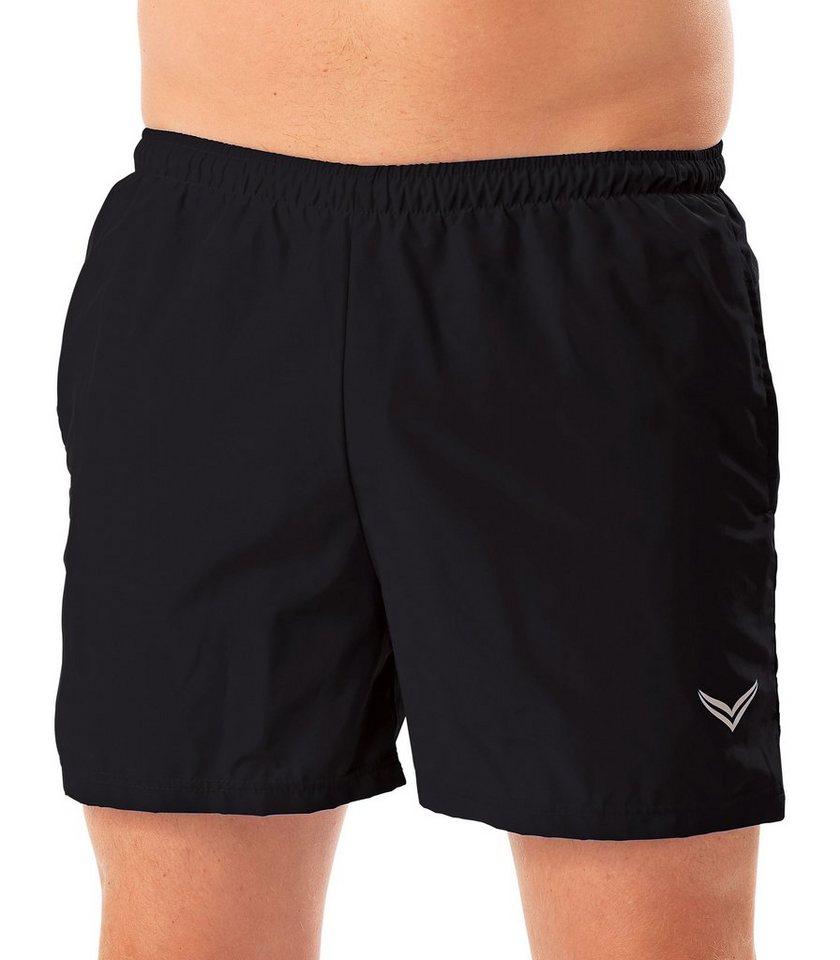 TRIGEMA Sport-Shorts in schwarz