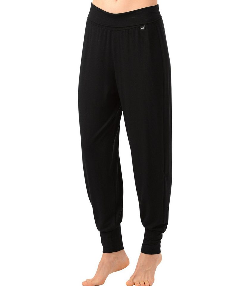 TRIGEMA Wellness-Hose in schwarz