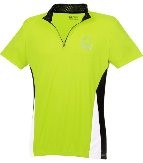 TRIGEMA Fahrradtrikot | Sportbekleidung > Trikots > Fahrradtrikots | Gelb | Polyester | Trigema
