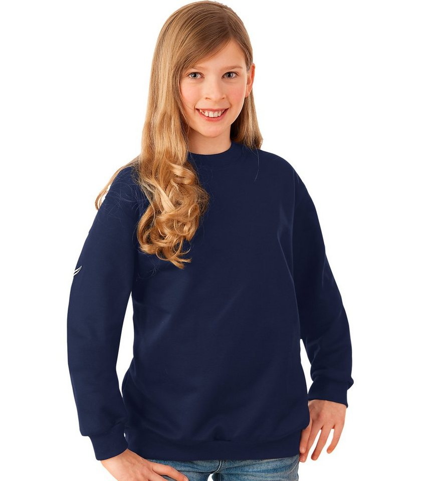 TRIGEMA Sweat-Shirt in navy