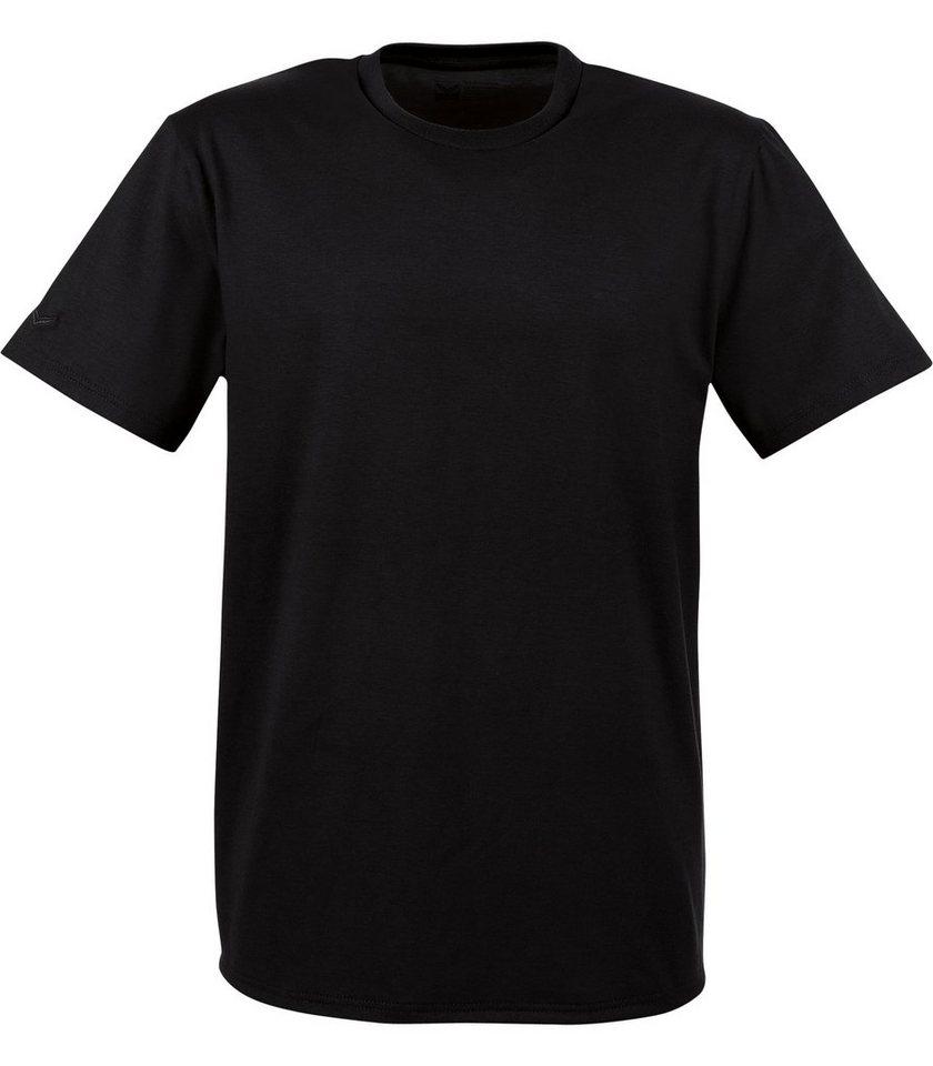 TRIGEMA T-Shirt 100% Biobaumwolle in schwarz-C2C
