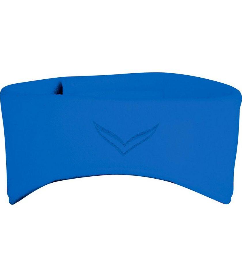 TRIGEMA Fleece Stirnband in electric-blue