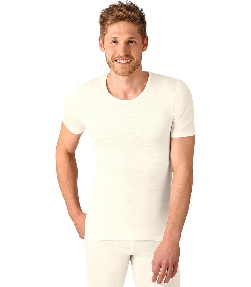 TRIGEMA T-Shirt Merinowolle in natur