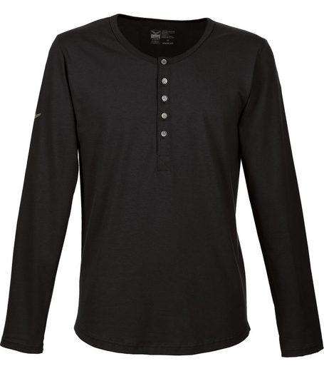 TRIGEMA Langarm Shirt Biobaumwolle