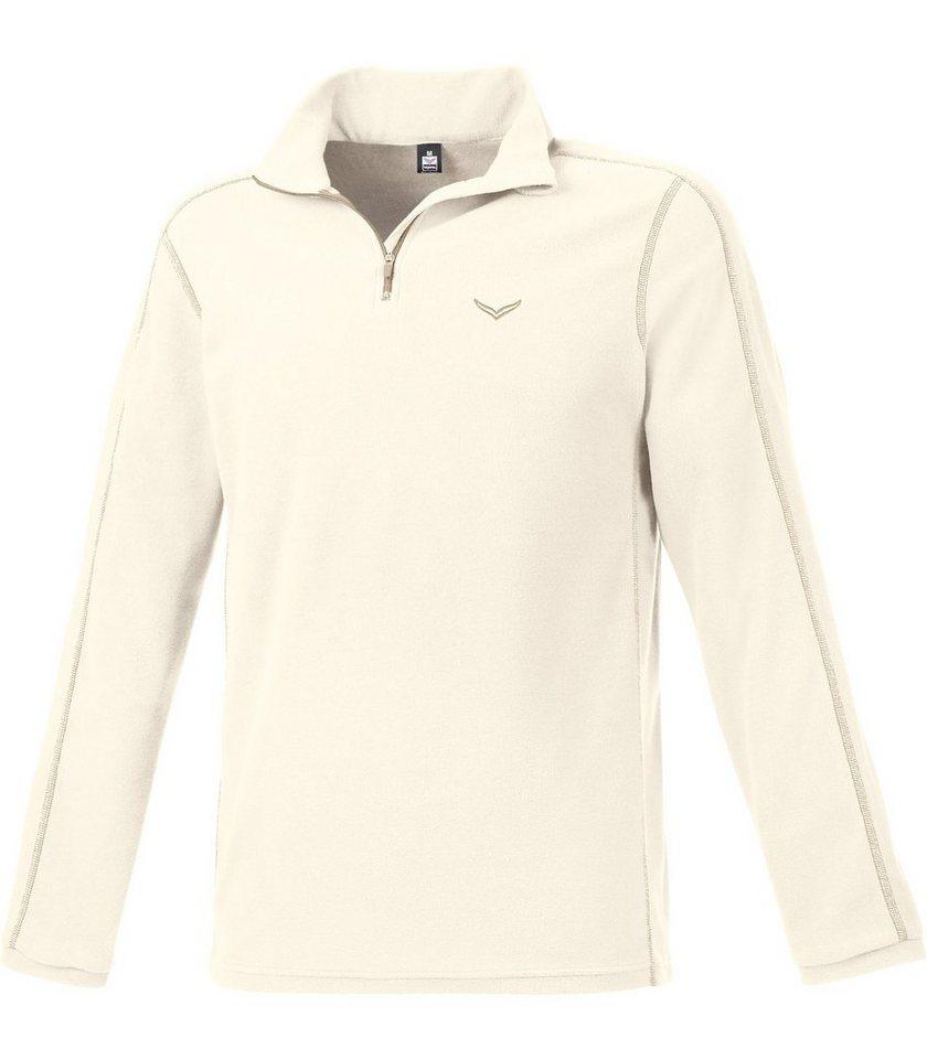 TRIGEMA Fleece Shirt in natur