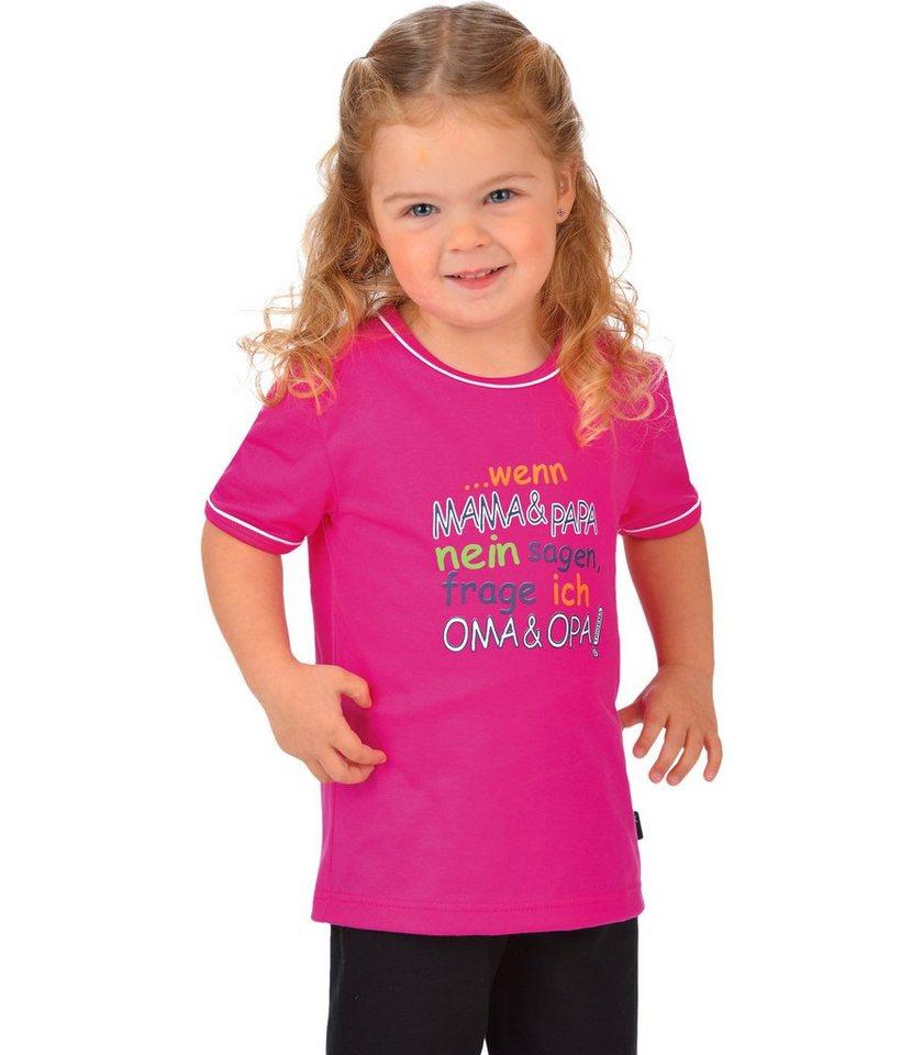 TRIGEMA T-Shirt 100% Baumwolle in hibiskus