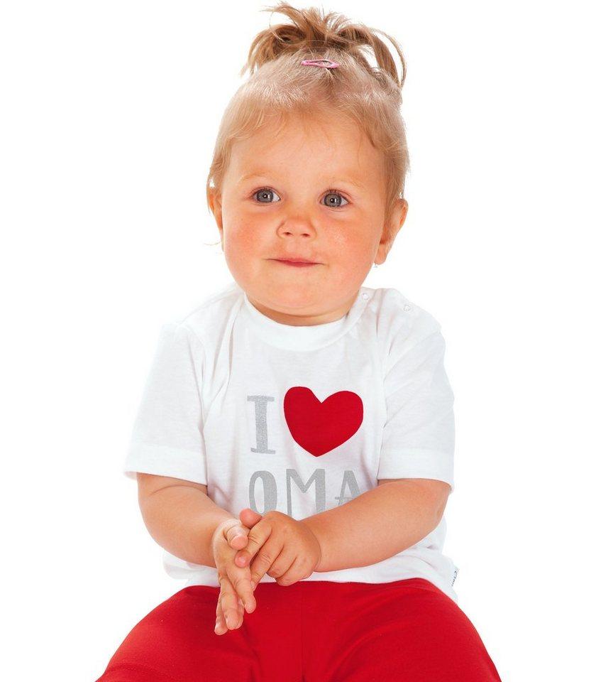 TRIGEMA T-Shirt Lieblings-Oma in weiss