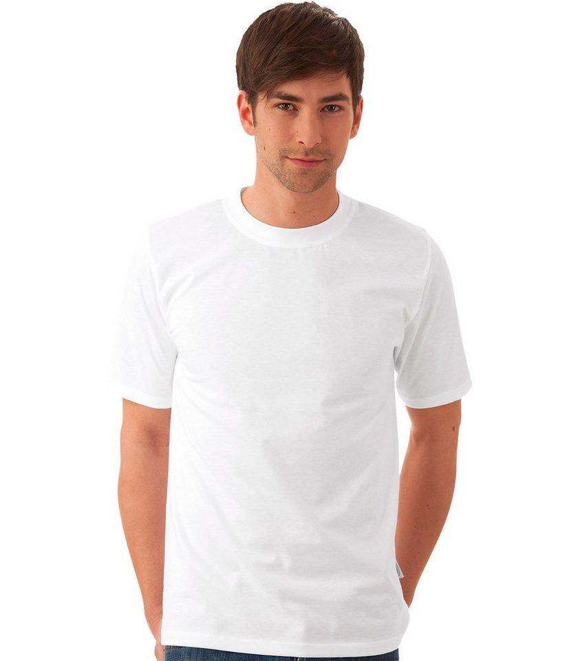 TRIGEMA T-Shirt DELUXE Baumwolle in weiss