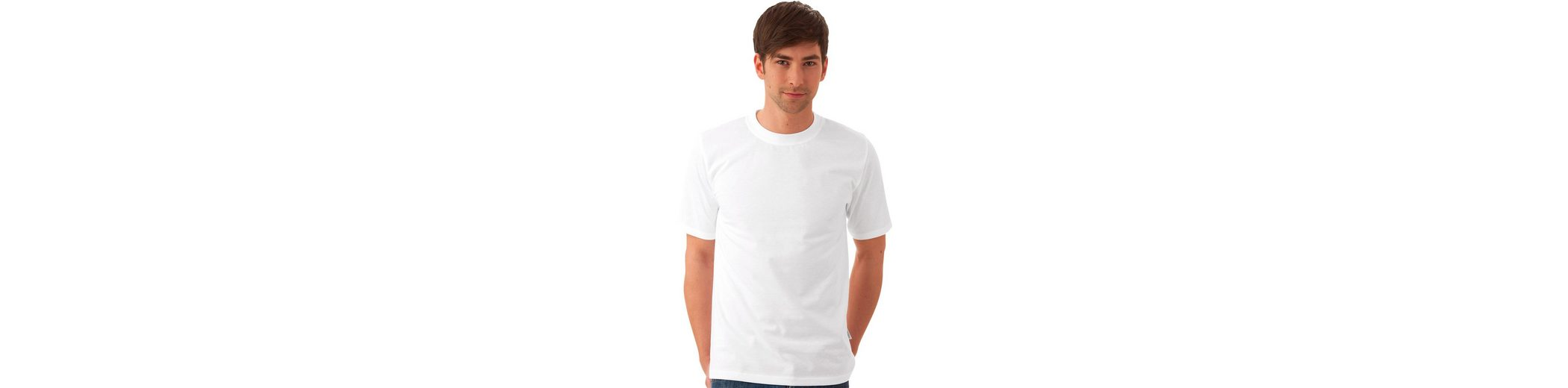 TRIGEMA T-Shirt DELUXE Baumwolle Billig Verkauf Angebote OVU1B