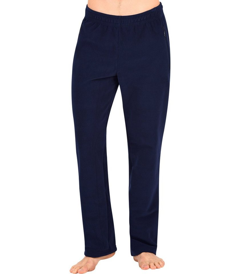 TRIGEMA Fleece Freizeithose in navy