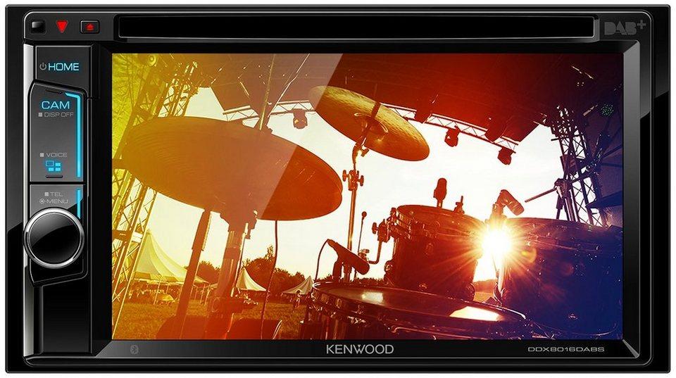 kenwood 2 din multimedia receiver dab ddx8016dabs online. Black Bedroom Furniture Sets. Home Design Ideas