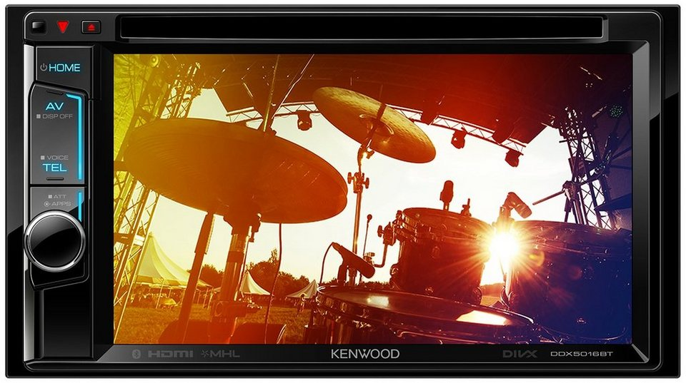 Kenwood 2-DIN Receiver mit Bluetooth »DDX5016BT« in schwarz